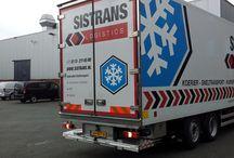 Isonort - Sistrans Logistics / Koerier- en sneltransportbedrijf Sistrans Logistics rijdt sinds kort in een speciaal uitgevoerde Isonort mult- TEMP koel- en vriescarrosserie. Leverancier van deze Isonort opbouw is Carbouw Rüttchen uit Veghel.