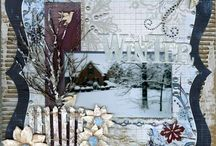 Scrapbooking - Winter / Great winter layouts - crisp and beautiful! / by Kathleen Ordiway