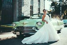 Brides & Cars // Dreamday with Dreamcar / Photo ideas for the Bride and their Getaway Car we love most!