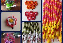 Crianças / Feitos à mão em tricô para as crianças
