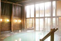 Onsen et Sento / Rien de plus relaxant que les célèbres bains japonais: Onsen et Sento