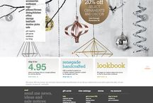 Holiday Homepage Designs - Desktop / Holiday 2014 eCommerce Homepage Designs