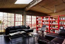 Lofts / Style Loft Nápady pro studenty interier design školy INTERMEZZO . Ideas for Interior design school INTERMEZZO´s students