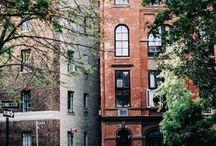 Street buildings arhitecture