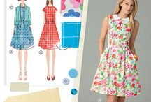 Patterns for capsule wardrobe / Sewing patterns shopping list