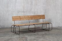 Bancs et banquettes / Le mobilier Eco Fabrik est conçu et fabriqué en France à partir de matériaux durables, bruts et authentiques (bois massif, fer, etc. ). Nos designs se veulent originaux, sobres et élegants.