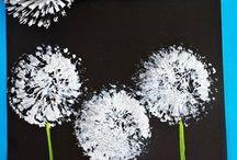 knutselen bloem