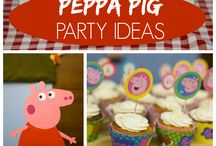 Party Peppa / by Ludmila Habovskay