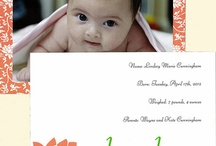 Baby Stationery: Baby shower & birth announcements / Celebrate your upcoming arrival, announce your baby's birth, and thank your friends & family for their generous gifts in support of bringing your little one into this world with our Lucky Onion Babies stationery. Easy to order so you can spend quality time with your baby.  http://luckyonion.com/Stationery-Lines/LuckyOnionBabies.htm