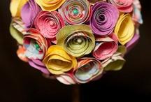 papirové kvety