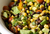 Spicy Southern Bean salad / Salad
