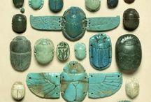 Escarabajos egipcios