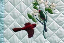 Vogelvrientjes quilt