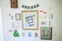 Gallery Wall Love / by Lovely Wren