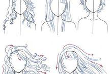 como dibujar y poses de referencia