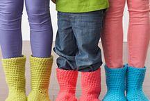 Zapatos crochet / Crochet
