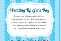 Wedding Tip of the Day / Tips to inspire you and help with planning your wedding! / by WeddingPhotoUSA