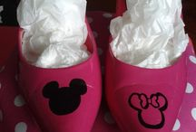 Upcycled and Painted shoes / I love to create new things