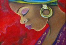 cuadros africanos