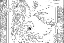 Horse Colouring Sheets