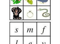 Träna alfabetet