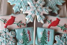 Decorated cookies / by Kathy Peterson