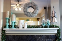 Mantle decor / by Cara Parliament-Sietstra
