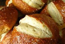 { bread/pretzels/tortillias } / pretzel rolls, bread, tortillias recipes