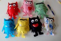 monstros das cores