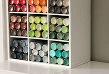 Craft Room Organization / How organize your craft room ideas