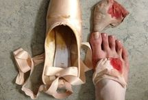 Tutus and pointe shoes