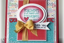 Cards - Thank you / Teachers / by Christine DePol