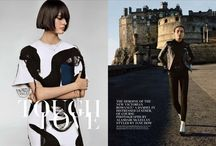 W Magazine / Check out the highlights of our fantastic W Magazine campaign right here in Edinburgh / by Location Scotland