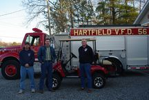 2014 Hartfield VFD 2014 Golf Cart Raffle Winner / This is the 2014 Hartfield VFD winner from Chesterfield VA. Just another example of our work for the local community