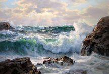 dipinti mare