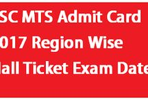 SSC Admit Cards