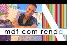MDF com Renda