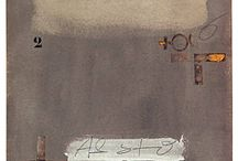 ArT : PAINTING | ANTONI TAPiES / by ATELIER DIA