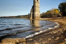 Tesoros bajo los pantanos / La sequía nos deja ver el pasado de los ríos ......