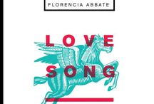 Love Song, de Florencia Abbate / Segundo título de la colección de poesía Pippa Passes, dirigida por Juan Arabia. Diseño Editorial: Camila Evia (ä)