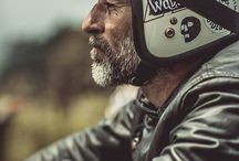 Motorcycle Men / Men, motorcycles,