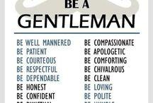 The Gentleman saying