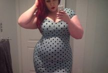 Big and Beautiful / plus size, bbw, curvy, chubby, xl, and of course beautiful women