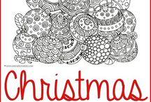 Kerst / Crea + klasinrichting