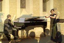 Música para flauta y piano