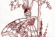 Crinoline lady / Crinoline lady