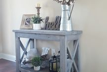 hall table idea