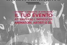 Intrattenimento / Offriamo la possibilità di avvalorare il tuo evento attraverso l'impiego di animatori, artisti e dj.