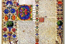 Illuminated Manuscripts / by Tatania Rosa