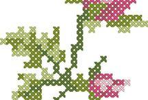 Floral Graph Patterns